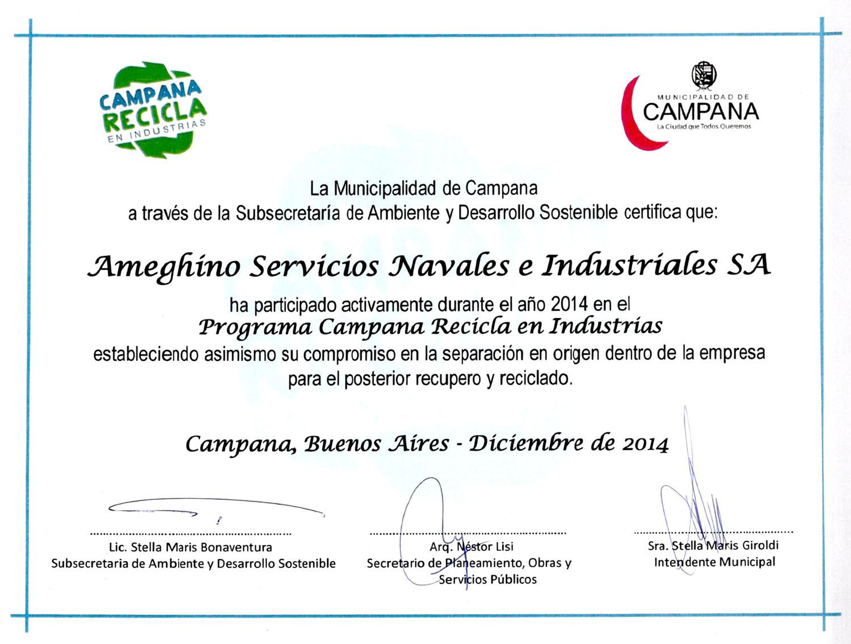 Certificado Aptitud Ambiental Aptitud Ambiental Otorgado